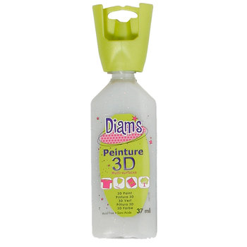 DIAM'S DIAM'S 3D, 37ml, Pailleté Holographique Argent