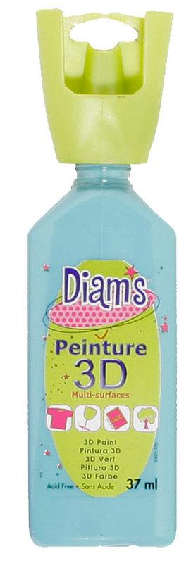 DIAM'S DIAM'S 3D, 37ml, Brillant Turquoise