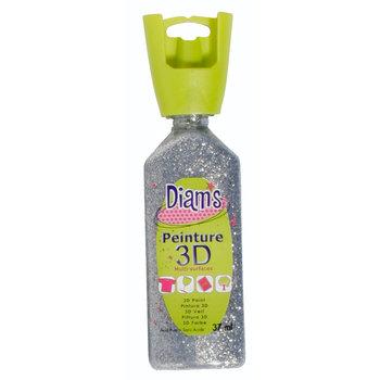 DIAM'S DIAM'S 3D, 37ml, Pailleté Argent