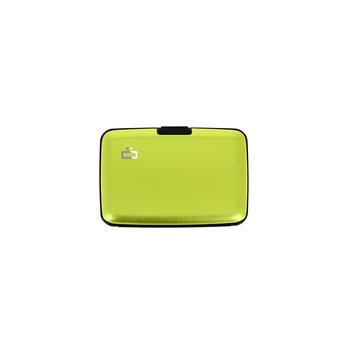 OGON Stockholm Unis Porte-cartes de crédit alu / Green Lime