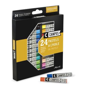 CAMPUS Pastel Huile Campus Boite 24 couleurs