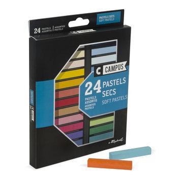 CAMPUS Pastel Sec Boite 24 couleurs