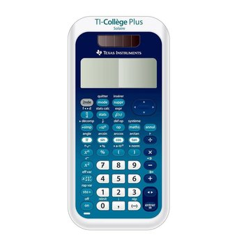 TEXAS INSTRUMENTS Calculatrice Scientifique TI College Plus Solaire