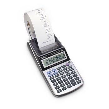 CANON Calculatrice imprimante portable 12 chiffres P1-DTSC+adaptateur AD11 inclus