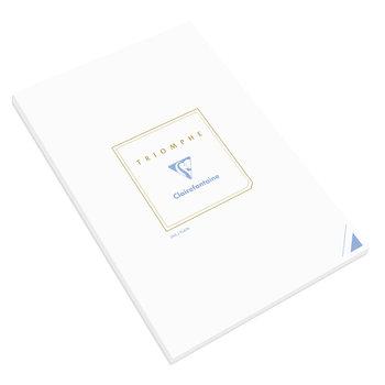 CLAIREFONTAINE Bloc TRIOMPHE 210x297 90g uni - Blanc