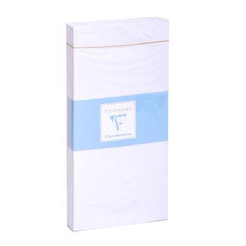 CLAIREFONTAINE Paquet de 25 enveloppes Adhéclair 110x220 90g - Blanc