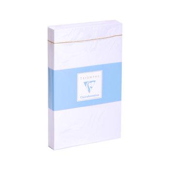 CLAIREFONTAINE Paquet de 25 enveloppes Adhéclair 90x140 90g - Blanc