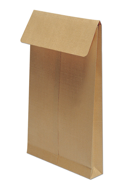 CLAIREFONTAINE Paquet de 5 pochettes à soufflet 260x330x30 Kraft 130g - Brun
