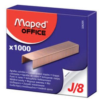 MAPED Boîte de 1 000 agrafes J/8 (acier cuivré JAKY8)
