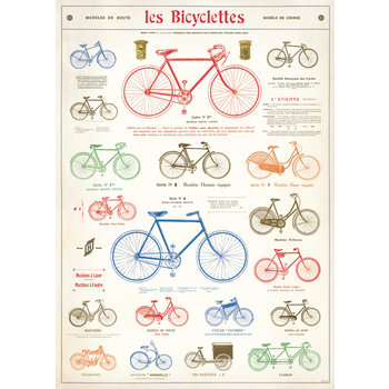 CAVALLINI Poster 50x70cm Vintage Bicyclette