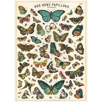 CAVALLINI Poster 50x70cm Vintage Papillons