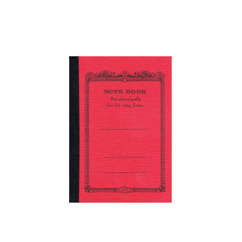 APICA NOTE BOOK 10x15 rouge ligné