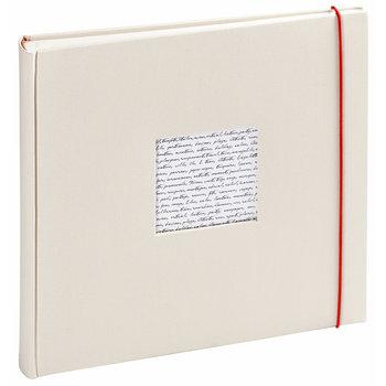 PANODIA Linea Album Photo Traditionnel - 30x30cm - 240 vues - Blanc cassé