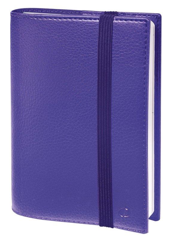 QUO VADIS Agenda Civil Time&life semainier 10x15cm violet élastique