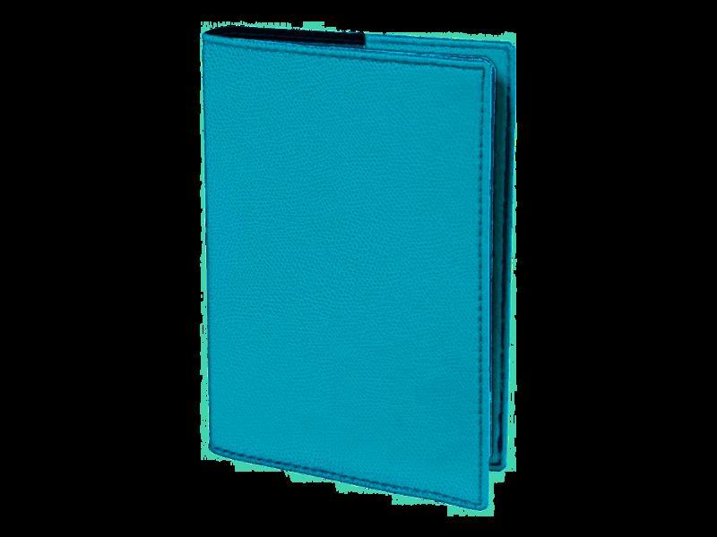 QUO VADIS Agenda Civil Affaires Club rep semainier 10x15cm turquoise