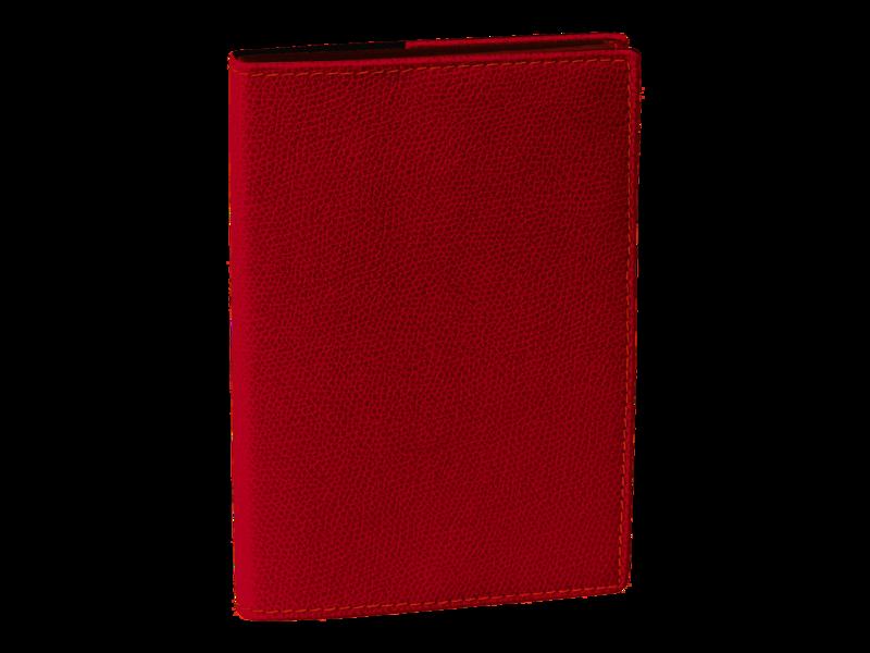 QUO VADIS Agenda Civil Affaires Club rep semainier 10x15cm rouge