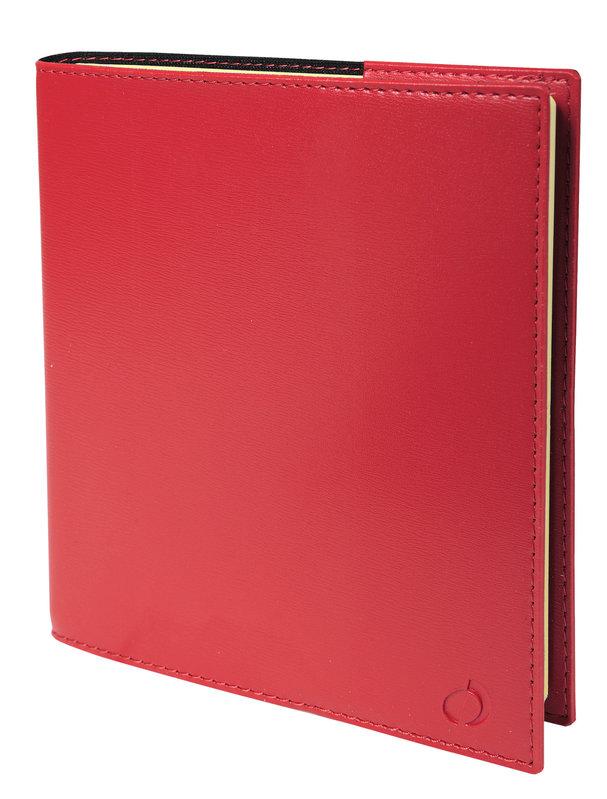 QUO VADIS Agenda Civil Note 16 S Soho rep semainier 16x16cm rouge