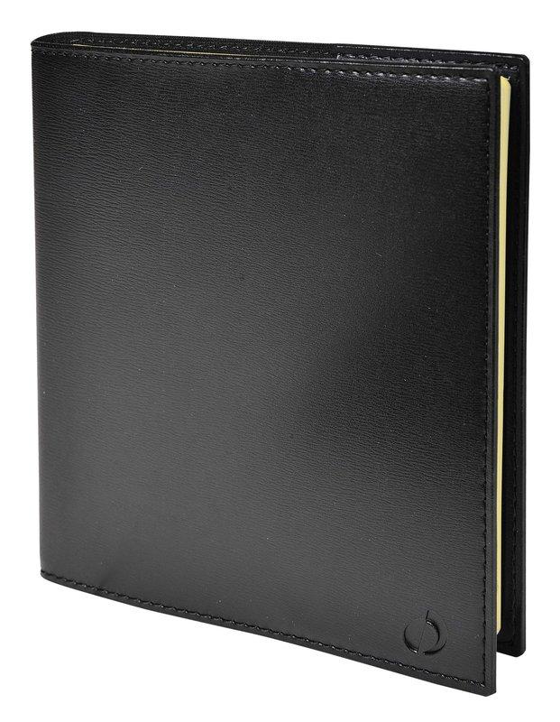 QUO VADIS Agenda Civil Note 16 S Soho rep semainier 16x16cm noir