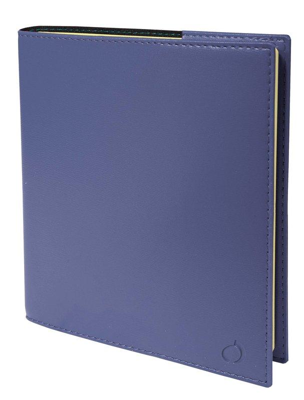 QUO VADIS Agenda Civil Note 16 S Soho rep semainier 16x16cm bleu ardoise