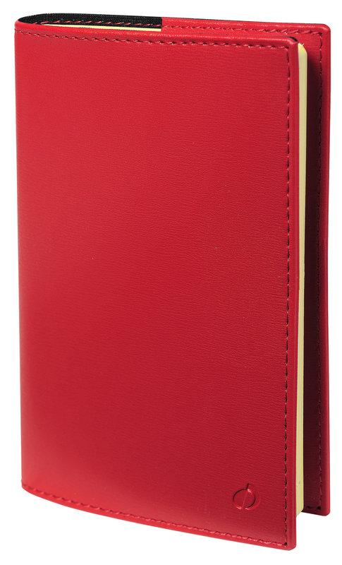 QUO VADIS Agenda Civil Note 24 S Soho rep semainier 16x24cm rouge