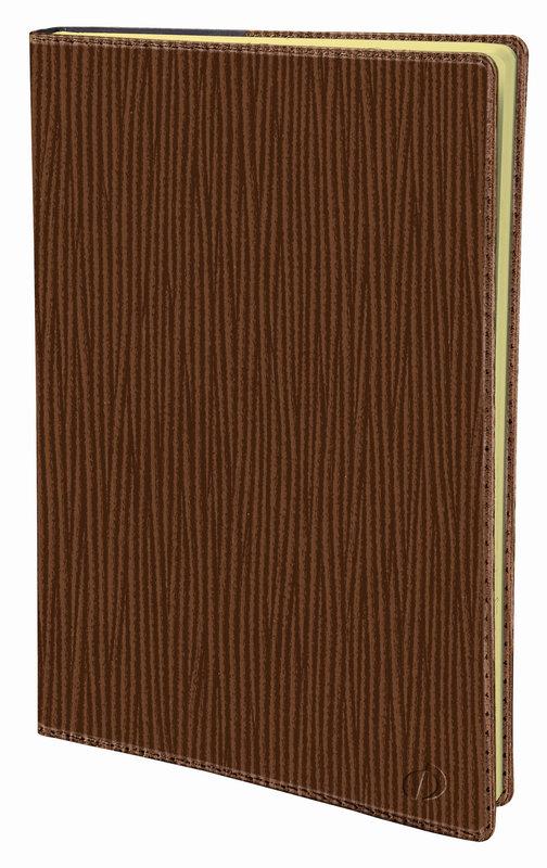 QUO VADIS Agenda Civil Président Prestige Sahara rep semainier 21x27cm brun