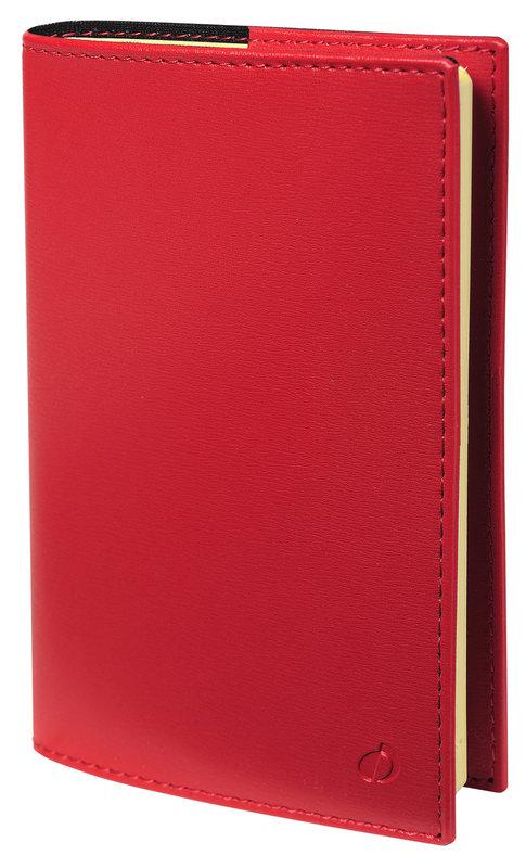 QUO VADIS Agenda Civil Carla Prestige Soho rep semainier x10,5cm rouge