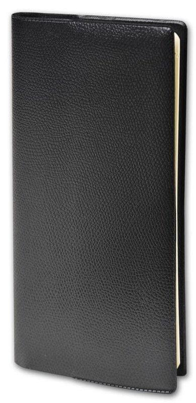 QUO VADIS Agenda Civil Planital Impala semainier 8,8x17cm noir