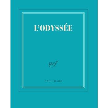 "GALLIMARD Carnet poche bleu turquoise ligné ""ODYSSEE"""