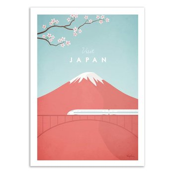 ART POSTER Visit Japan - Henry Rivers W16310 - 30 x 40 cm