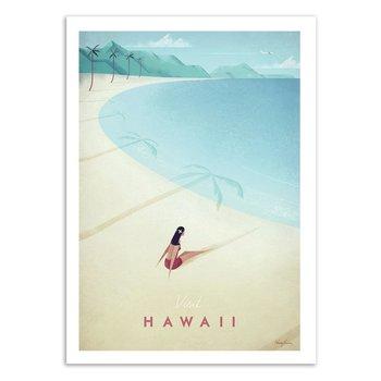 ART POSTER Visit Hawaii - Henry Rivers W17051 - 50 x 70 cm