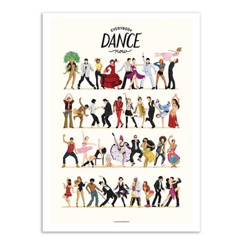 ART POSTER Everybody Dance now - Nour Tohme W19751 - 50 x 70 cm