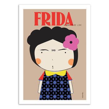 ART POSTER Frida - Ninasilla - 30 x 40 cm