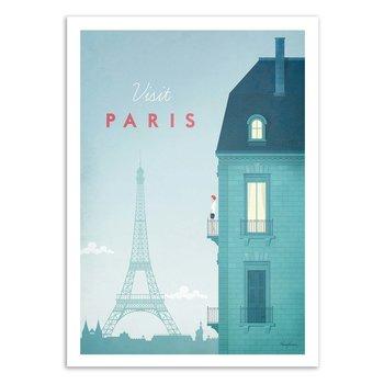ART POSTER Visit Paris - Henry Rivers W16312 - 50 x 70 cm