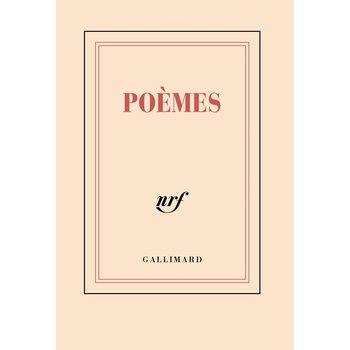 """GALLIMARD Carnet poche ligné """"POÈMES"""""""