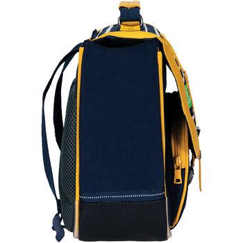 TANNS Cartable 32 cm fantaisie Sacha bleu/jaune
