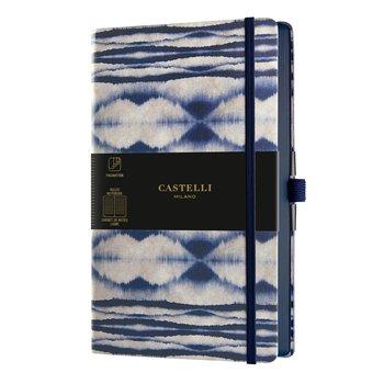CASTELLI Carnet Shibori grand format ligné Mist