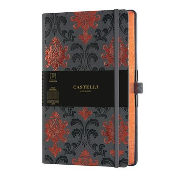 CASTELLI Carnet C&G grand format ligné Baroque Copper
