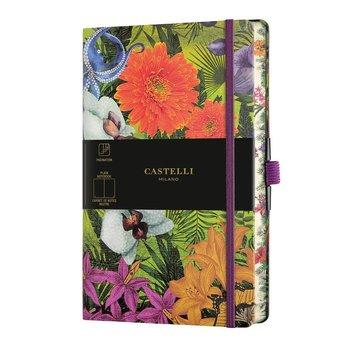 CASTELLI Carnet Eden grand format uni orchidée