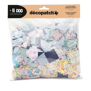DECOPATCH Maxi pack 11 000 carrés Décopatch 3x3cm