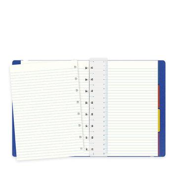 FILOFAX Notebook Classic A5 Bleu