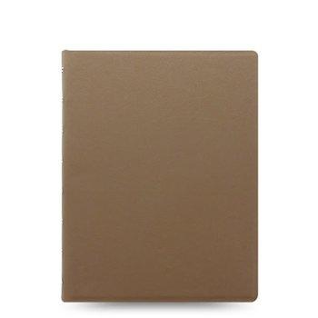FILOFAX Notebook Saffiano A5 Taupe
