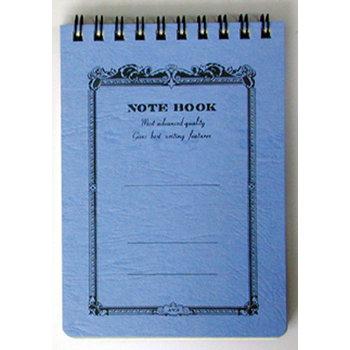 APICA NOTE BOOK Spirales 13x9 bleu ligné