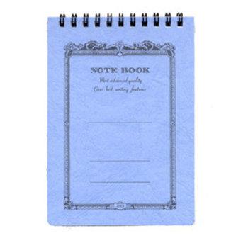 APICA NOTE BOOK Spirales 10x15 bleu ligné