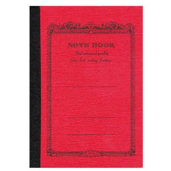 APICA NOTE BOOK 18x25 rouge ligné