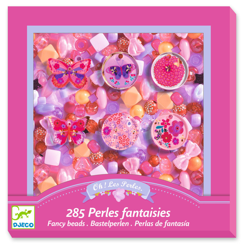 DJECO Perles et bijoux Papillons