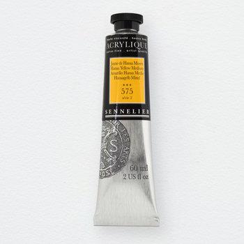 SENNELIER Acrylique Extra fine Tube 60ml Jaune de Hansa Moyen S2