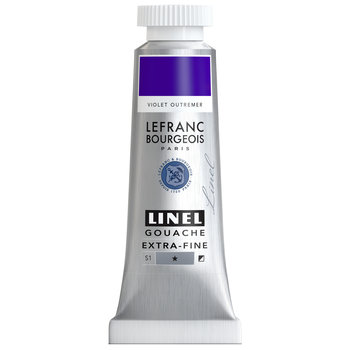 LEFRANC BOURGEOIS Linel Gouache Extra-Fine 14Ml Tbe Violet Outremer