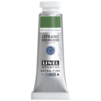 LEFRANC BOURGEOIS Linel Gouache Extra-Fine 14Ml Tbe Vert Oxyde De Chrome