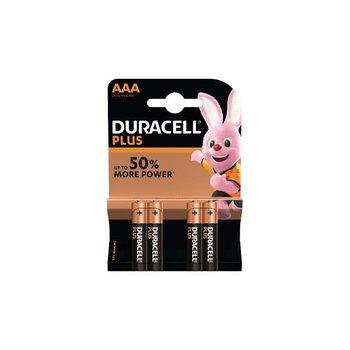 DURACELL Pack de 4 piles AAA Duracell Plus Power