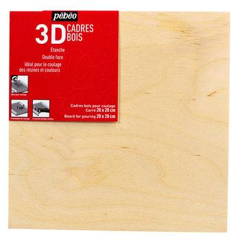 PEBEO Cadre de bois coulage 20x20cm